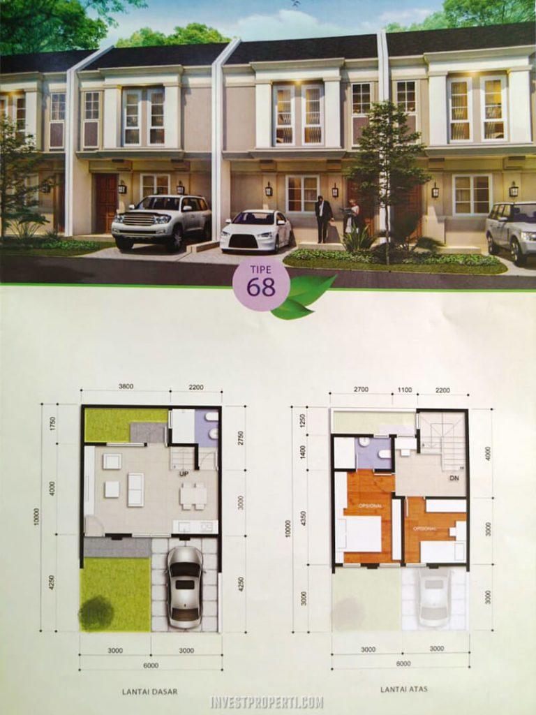Rumah Savia Park BSD Tipe 68