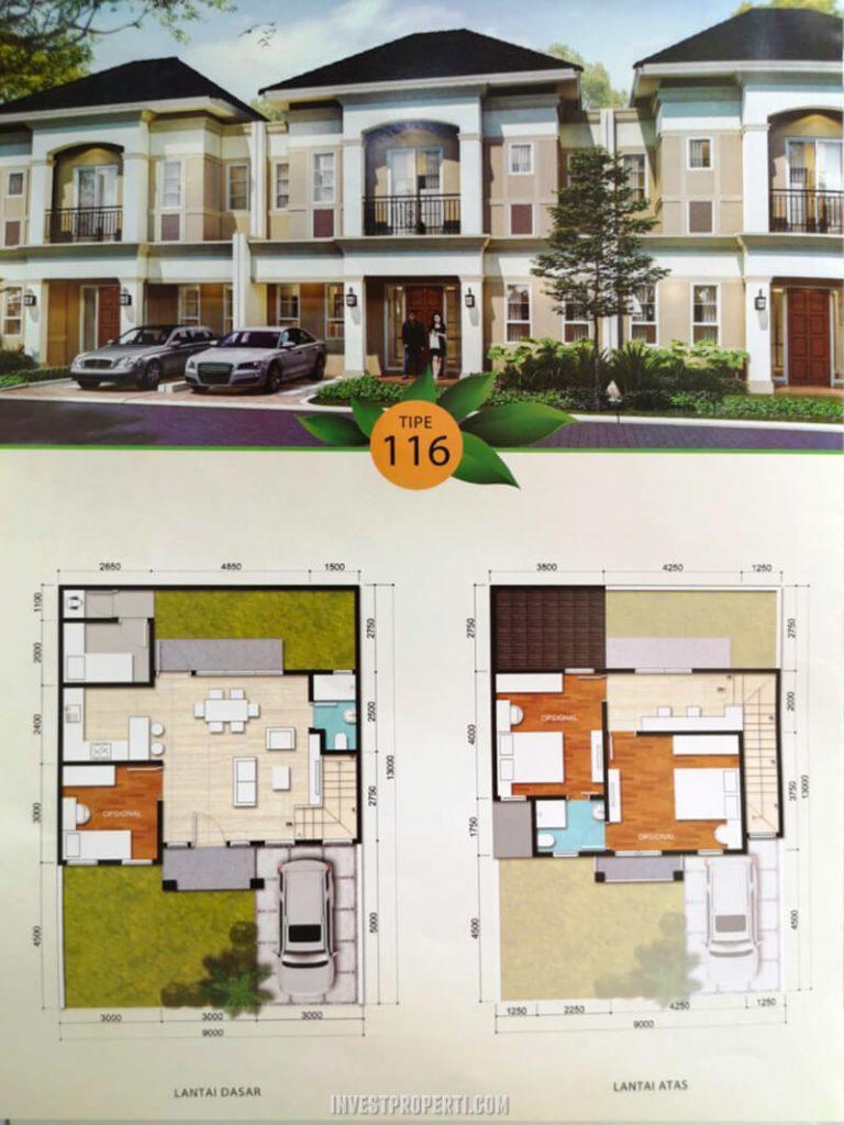 Rumah Savia Park BSD Tipe 116