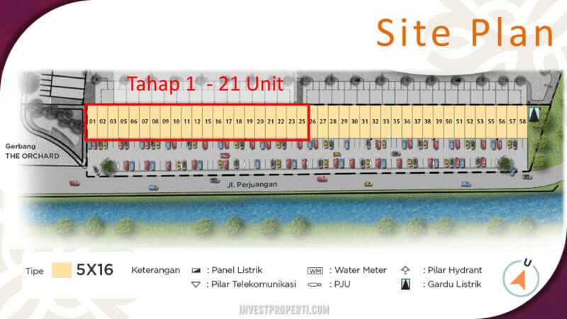 Siteplan Burgundy Commercial Summarecon Bekasi