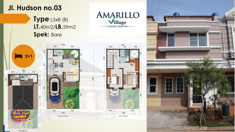 Amarillo Village Jln Hudson No 03