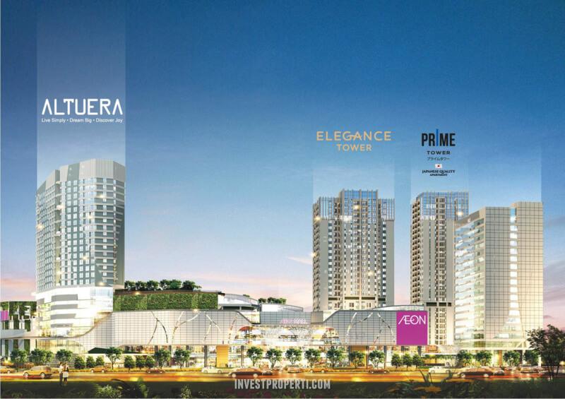 Apartemen Altuera Southgate Jakarta