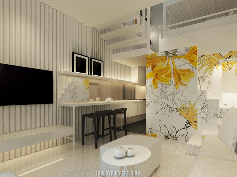 Interior Rumah Tabebuya BSD