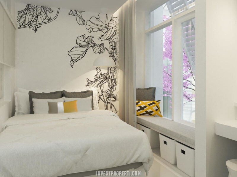 Interior Rumah Tabebuya BSD - Master Bedroom