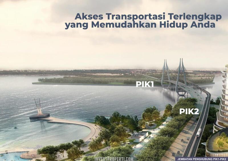 Jembatan Penghubung PIK2 - PIK1