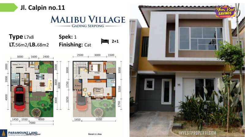 Malibu Village jln Calpin No 11
