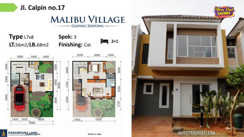 Malibu Village jln Calpin No 17