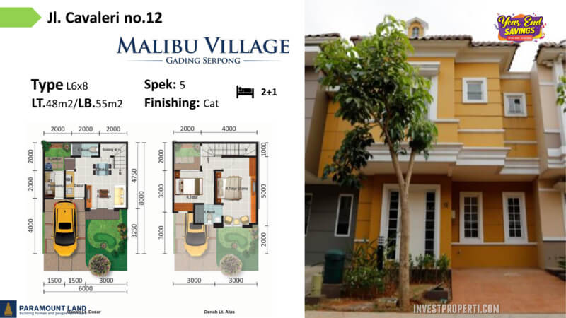 Malibu Village jln Cavaleri No 12