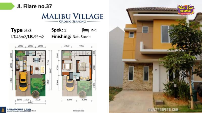 Malibu Village jln Filare No 37