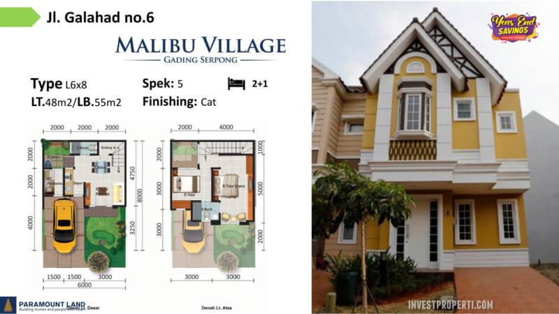 Malibu Village jln Galahad No 06