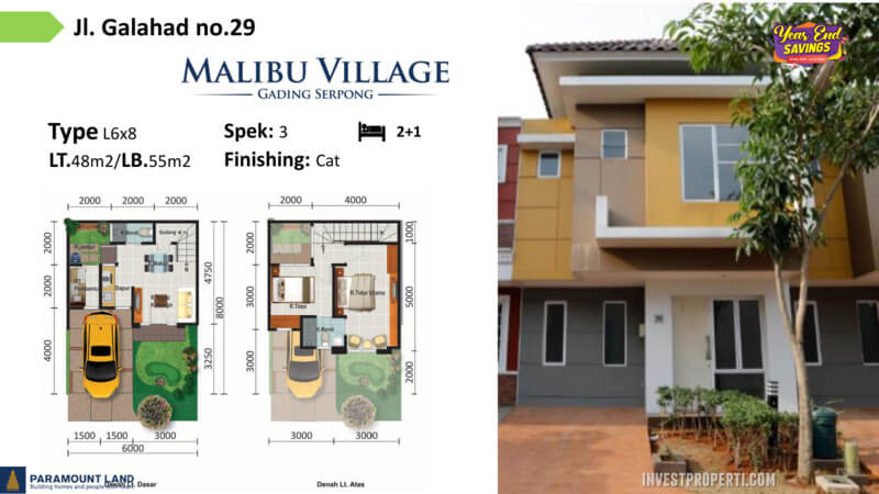 Malibu Village jln Galahad No 29
