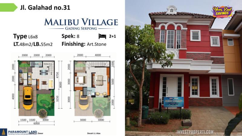 Malibu Village jln Galahad No 31