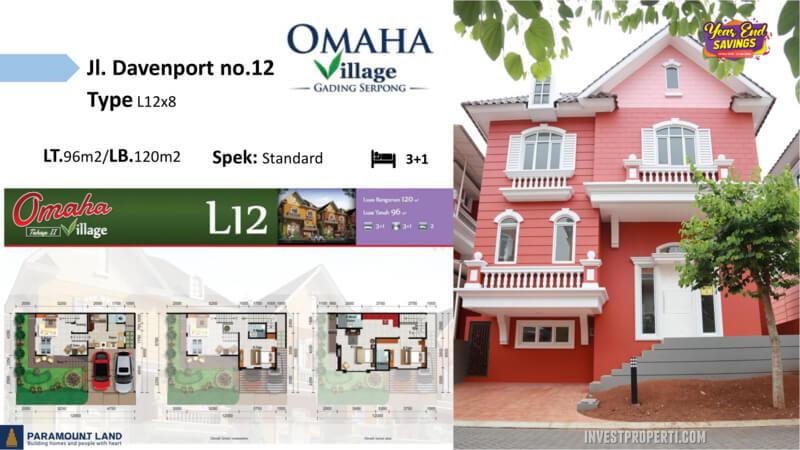Omaha Village Jln Davenport No 12