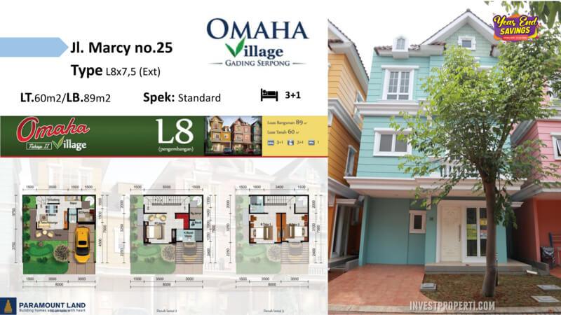 Omaha Village Jln Marcy No 25