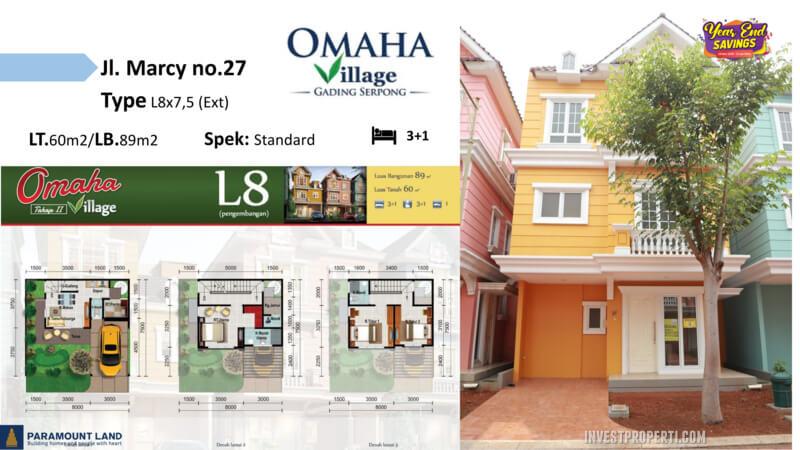 Omaha Village Jln Marcy No 27