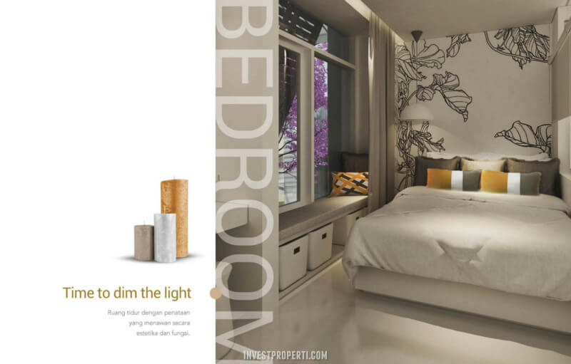 Design Bedroom Rumah InspiraHaus BSD