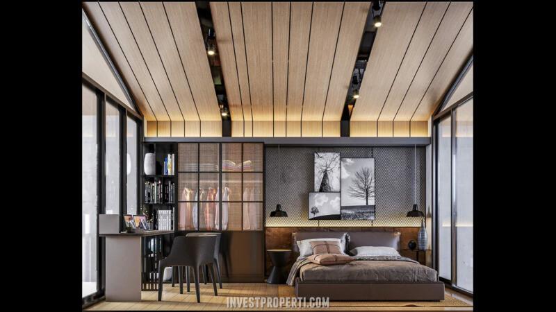 Design Interior Rumah Waterfront Estate Lippo Cikarang