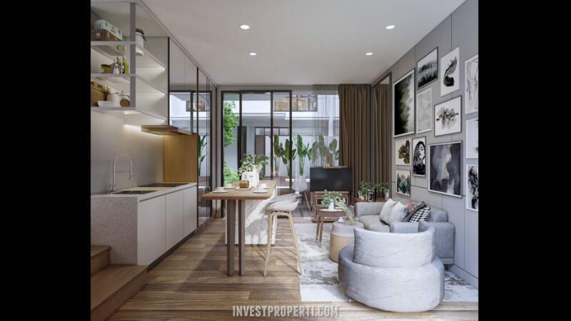Design Rumah Waterfront Estate Lippo Cikarang