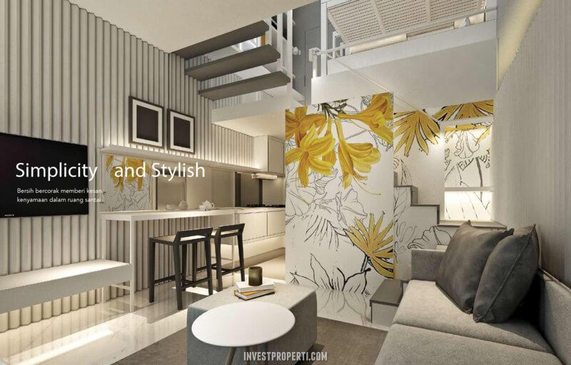 Design Living Room Rumah InspiraHaus BSD