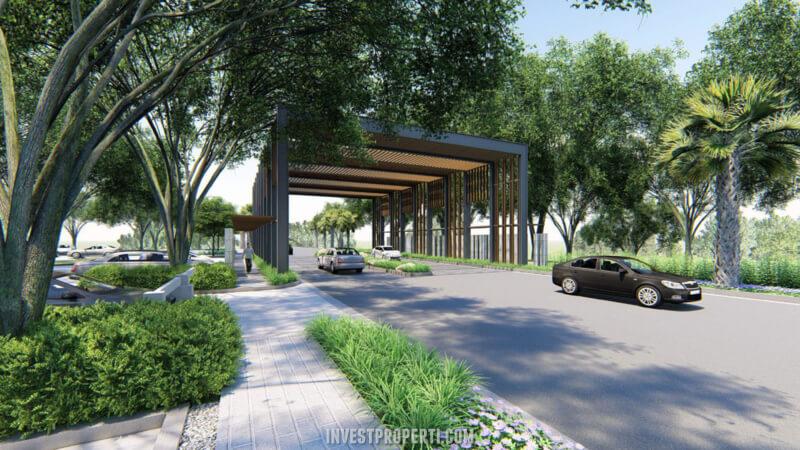 Gate Waterfront Estate Lippo Cikarang