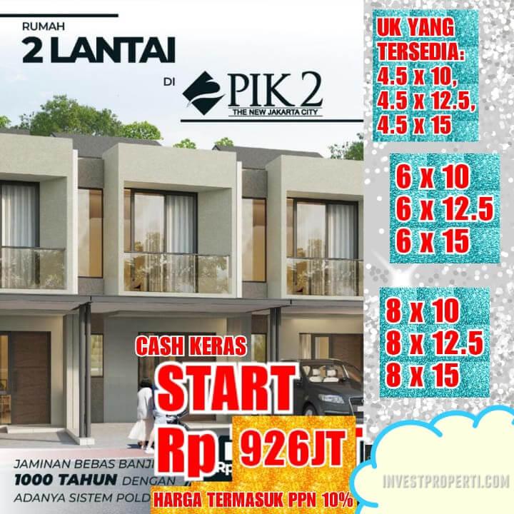 Rumah Baru PIK 2 Jakarta