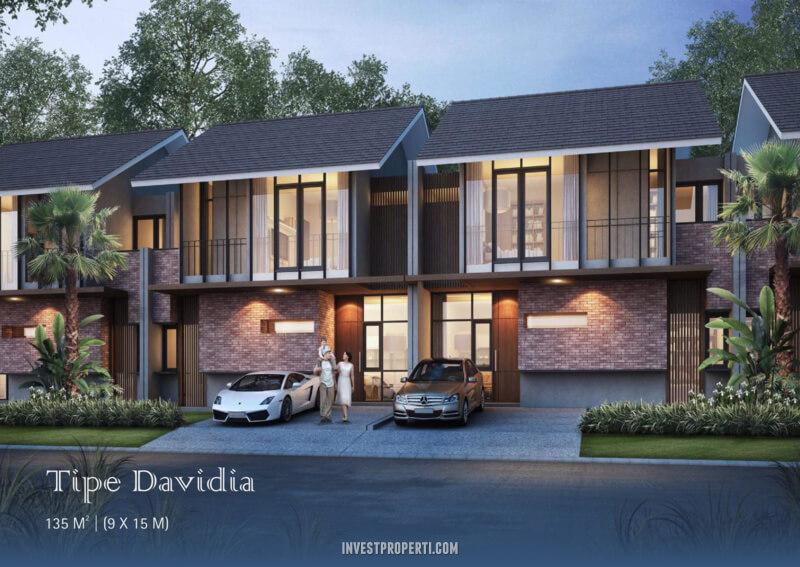 Rumah Davidia Cluster Dakota Suvarna Sutera