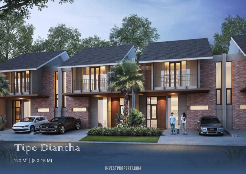 Rumah Diantha Cluster Dakota Suvarna Sutera