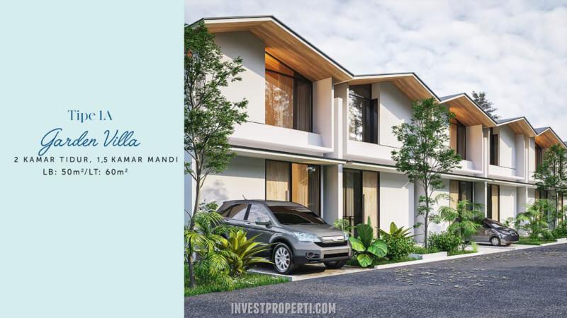 Rumah Waterfront Estate Lippo Cikarang Tipe 1A