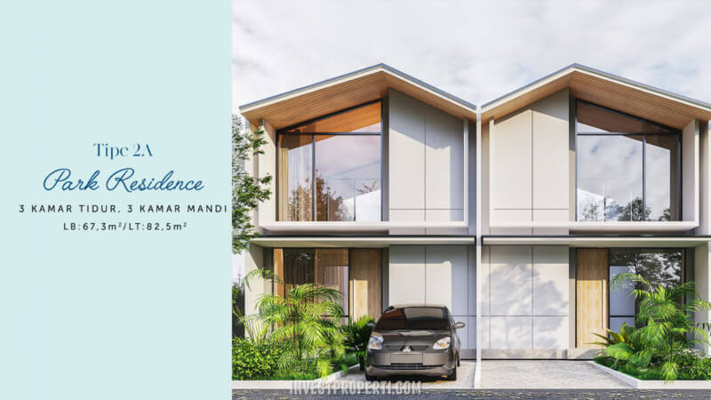 Rumah Waterfront Estate Lippo Cikarang Tipe 2A