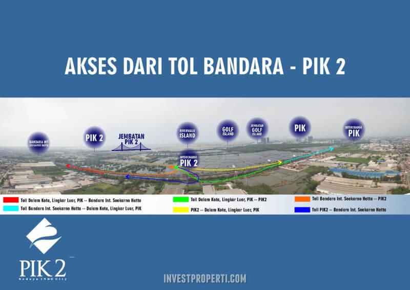Akses tol Bandara PIK 2
