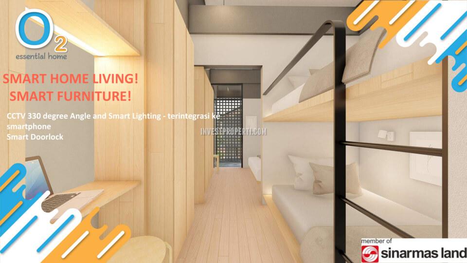 Bedroom Rumah O2 Grand Wisata Bekasi