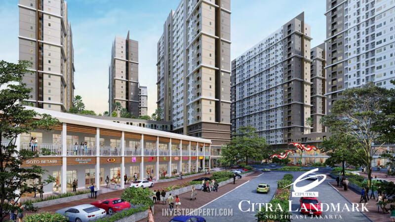 Citra Landmark Ciracas Ruko Apartemen