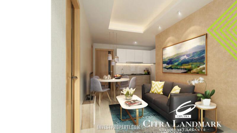 Citra Landmark Jakarta Apartemen Interior Design