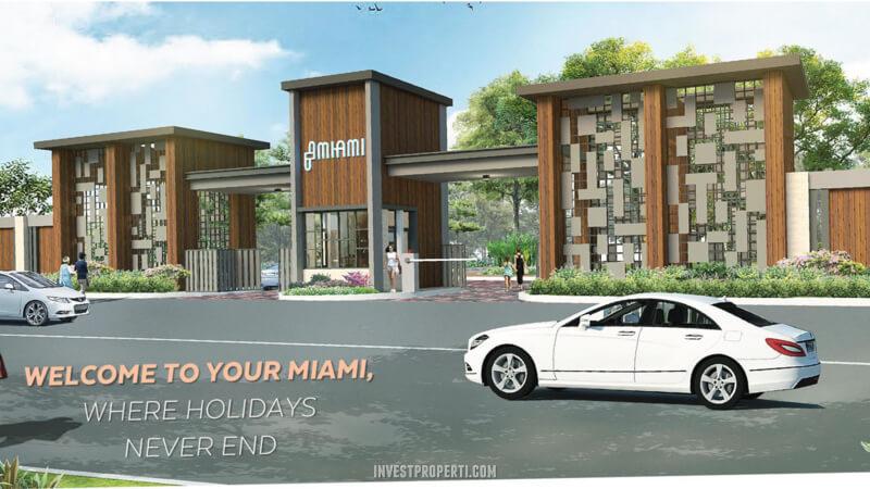 Gate Cluster Miami Kota Wisata Cibubur