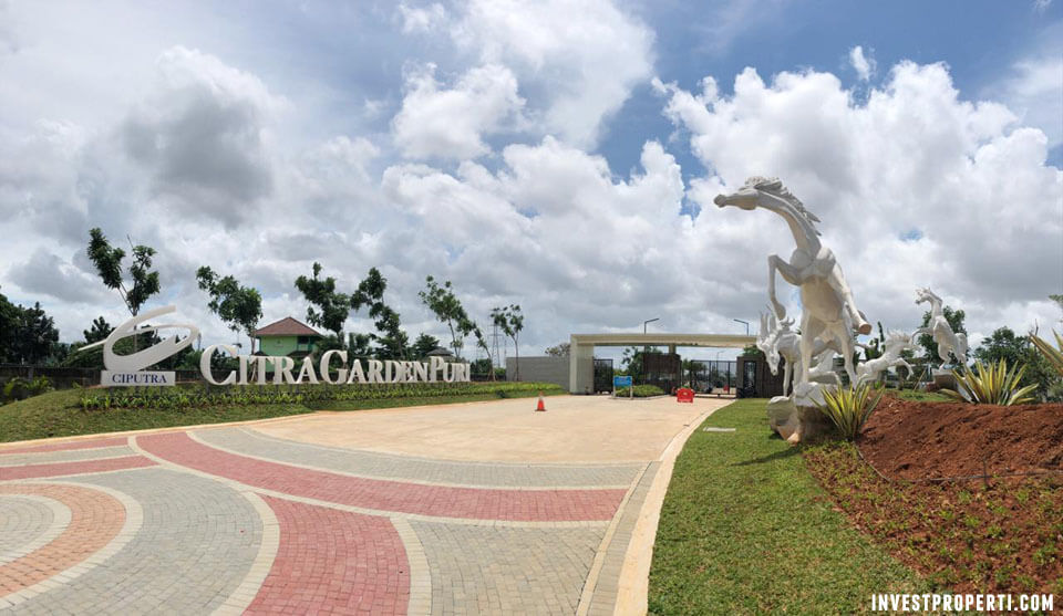 Gerbang Citra Garden Puri Jakarta Barat