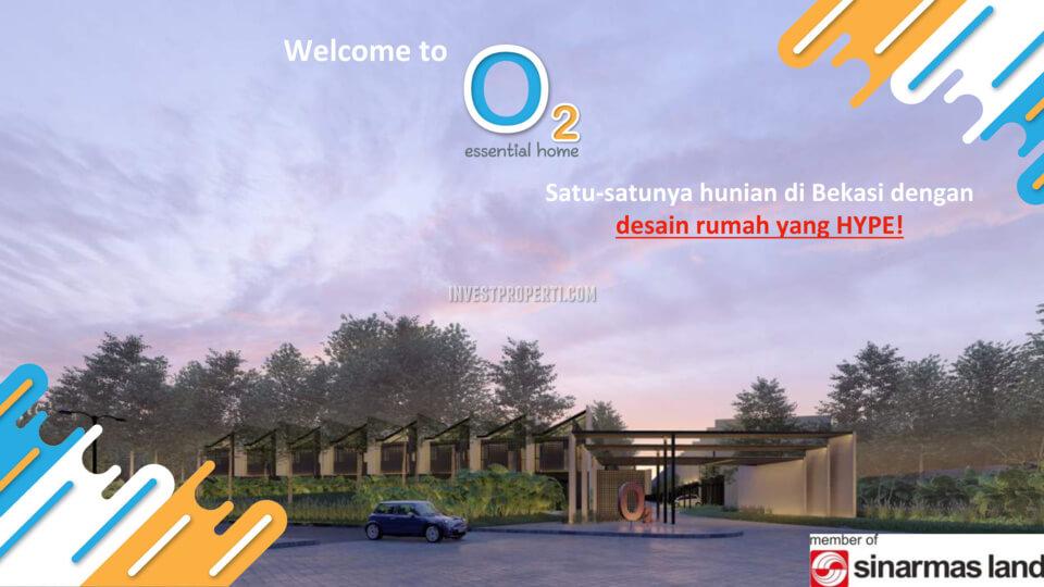Gerbang Cluster O2 Essential Home Grand Wisata Bekasi