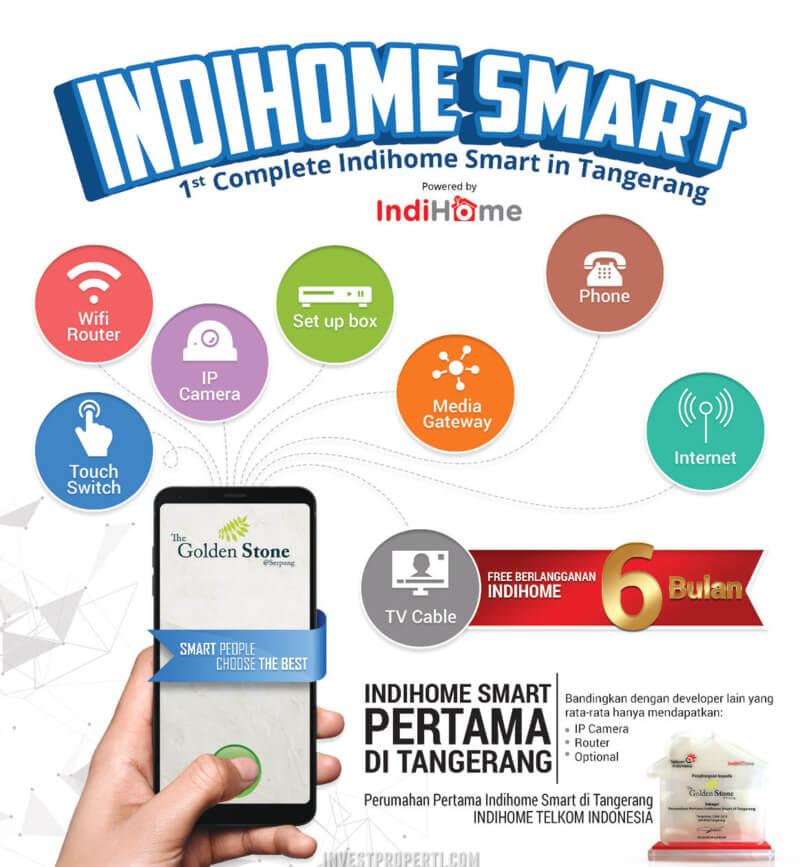 Indihome Smart Golden Stone @ Serpong