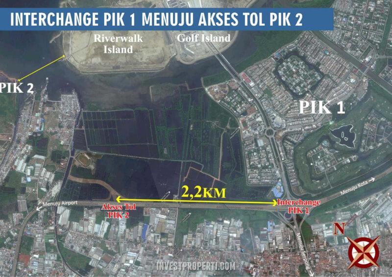 Interchange PIK1 - PIK2 Jakarta