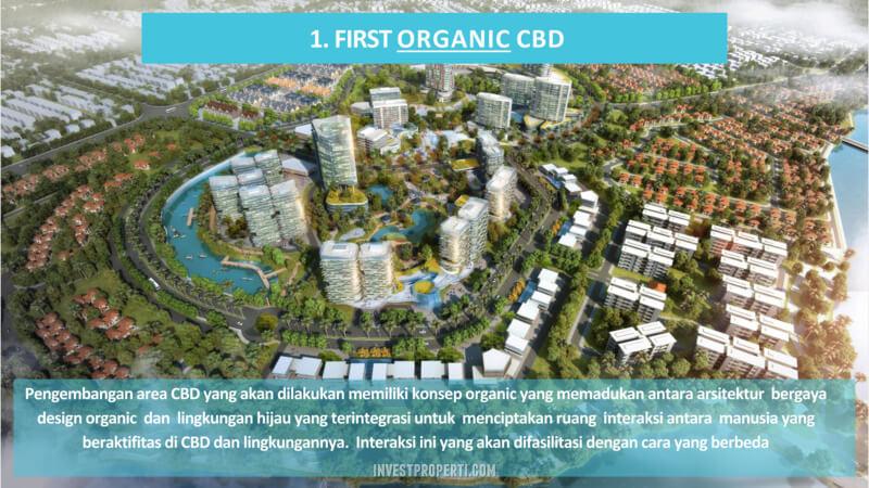 Kota Wisata Cibubur First Organic CBD