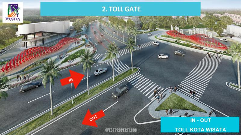 Kota Wisata Cibubur - Toll Gate