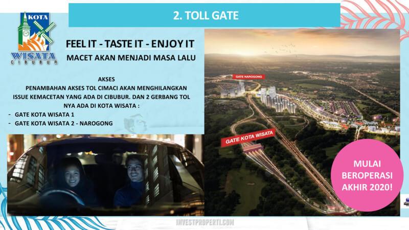 Kota Wisata Cibubur - Toll Jorr2