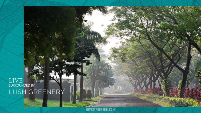 Lingkungan Prumahan Puri Botanical Jakarta