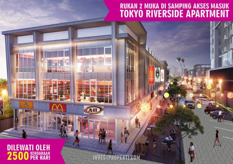 Rukan Shibuya PIK 2 - Samping Tokyo Riverside