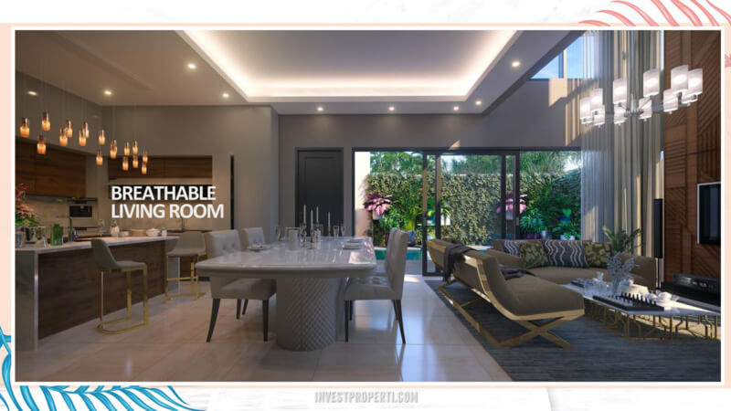 Rumah Cluster Miami Kota Wisata Cibubur - Living room