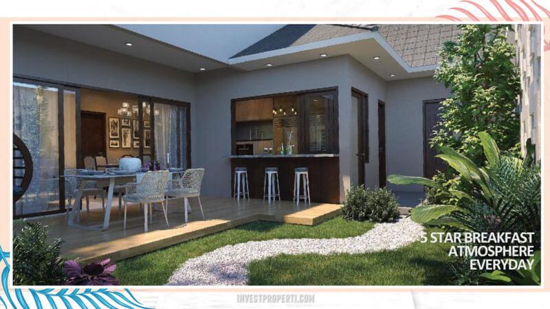 Rumah Cluster Miami Kota Wisata Cibubur - Outdoor Space