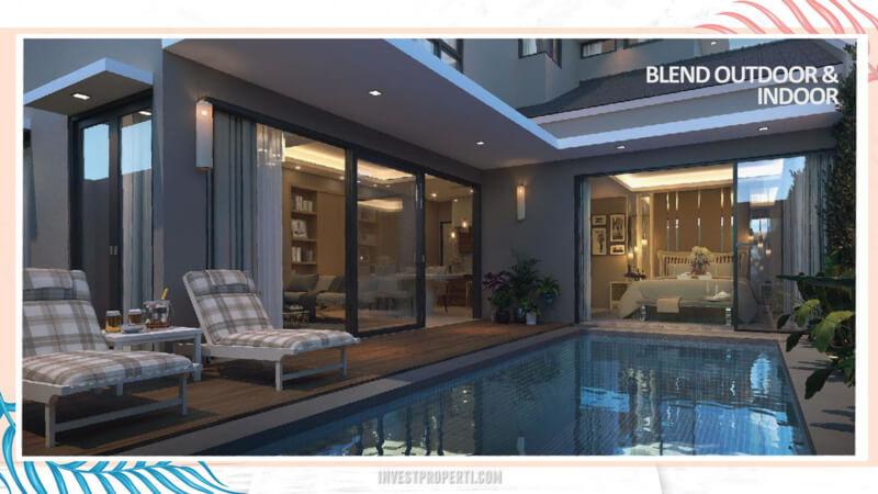 Rumah Cluster Miami Kota Wisata Cibubur - Swimming Pool