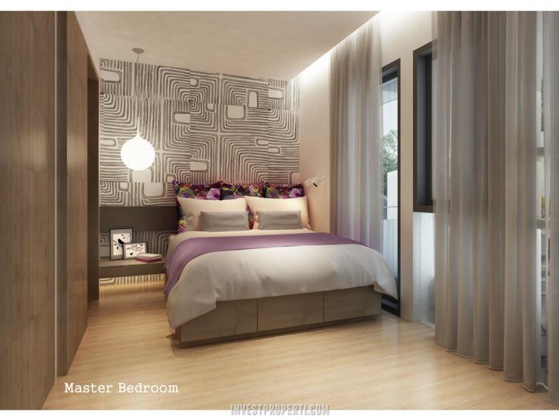 Rumah InvensiHaus BSD - Master Bedroom
