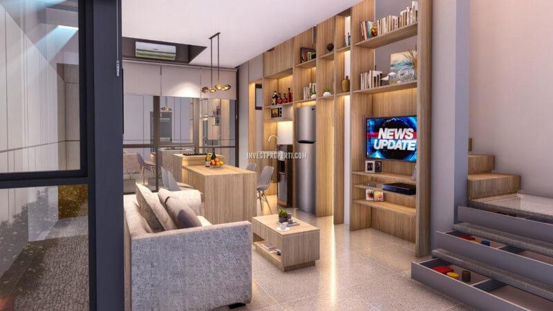 Rumah O2 Essential Home Grand Wisata Bekasi Full Furnished