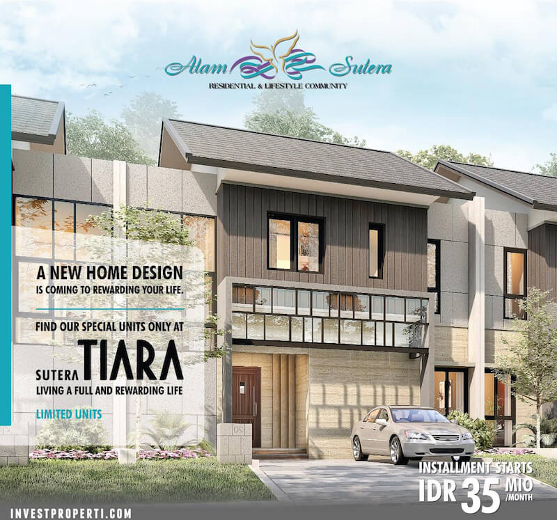 Rumah Sutera Tiara Dijual