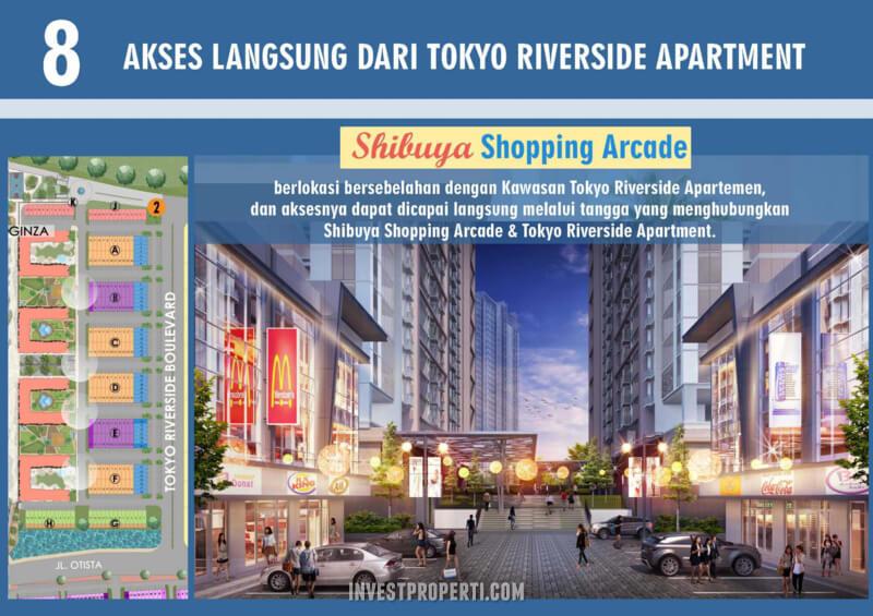 Akses Langsung Shibuya dari Tokyo Riverside