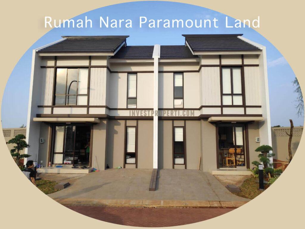 Show Unit Rumah Nara Paramount Land